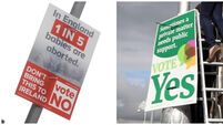Parents angered by referendum posters