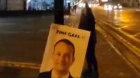 'No regrets' - Limerick election candidate defends cutting down Leo Varadkar poster