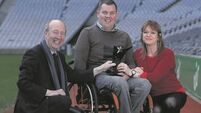 RSA honours man left paralysed after traffic collision 11 years ago for road safety work