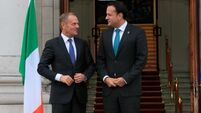Donald Tusk gives Ireland crucial backing on border