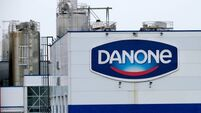 Danone shares rise further as investor builds stake