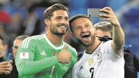 Germany ride their luck in St Petersburg