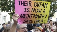 President dumps Dreamers on a hapless US Congress