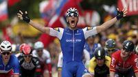 Thomas Geraint leads after chaotic opening weekend of Tour de France