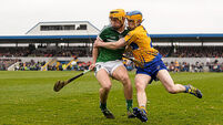 Diarmaid Byrnes and Tom Morrissey Limerick's unlucky duo