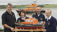 Courtmacsherry Model Lifeboat feted