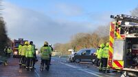 Two hospitalised after three-vehicle collision in Co Cork