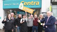 Dublin store celebrates selling €1m winning EuroMillions ticket