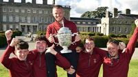 100ft putt seals Junior Cup for Ballybunion