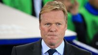 Ronald Koeman frustrated by 'struggling' Everton