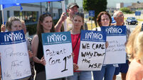 Nurses in Tralee protest against A&E overcrowding
