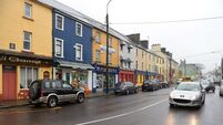 Celtic tiger town of Milltown at the crossroads