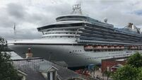 Saga begins as first of 65 cruise liners to arrive in Cobh