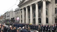 Thousands turn out to pay tribute at site of Easter Rising