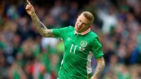 James McClean 'has to channel that frustration'