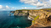 Forty Foot and Cliffs of Moher make Lonely Planet's ultimate adrenaline encyclopaedia