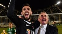 John Caulfield salutes 'fantastic' penalty hero MarkMcNulty