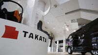 Airbag maker Takata file for bankruptcy protection