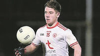 Tyrone playmaker Mark Bradley out of Carlow clash