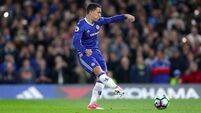 Eden Hazard brace gets Chelsea back on title track