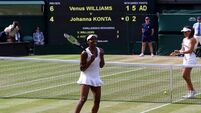 Venus Williams says sister Serena will have inside track on Muguruza