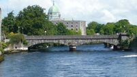 Gardaí rescue man who fell into canal during tail end of Storm Ciara in Galway
