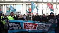 Community workers strike over pay and pensions in Dublin