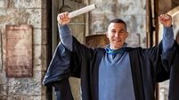 Ex-addict James Leonard graduates with first class honours from UCC