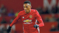 Jose Mourinho impressed by Anthony Martial's attitude
