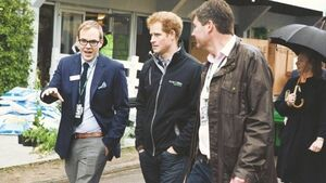 Things were blooming at Chelsea Flower Show for Prince Harry's visit