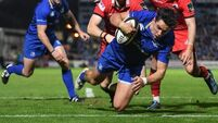 Late score helps Leinster overcome Edinburgh