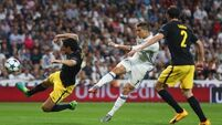 Ronaldo hat-trick piles on the pain as Real sweep Atletico aside