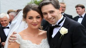Healthy outlook: Simon Harris ties the knot with Caoimhe