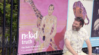 You can't handle the Naked Truth - Posters of nudes defaced outside Cork art gallery