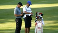 Rory McIlroy enjoying 'new chapter' with new bagman Harry Diamond