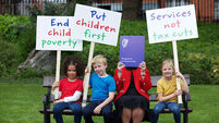 Children's charities call for action on child poverty by next government