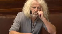 Mick Wallace reprimanded for calling Venezuelan opposition leader an 'unelected gob*****'