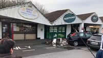 Ballincollig shopping centre damaged after car strikes supporting pillar