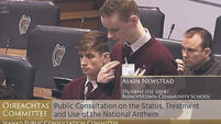 Watch: Guidelines for national anthem use and support for Irish sign language version proposed