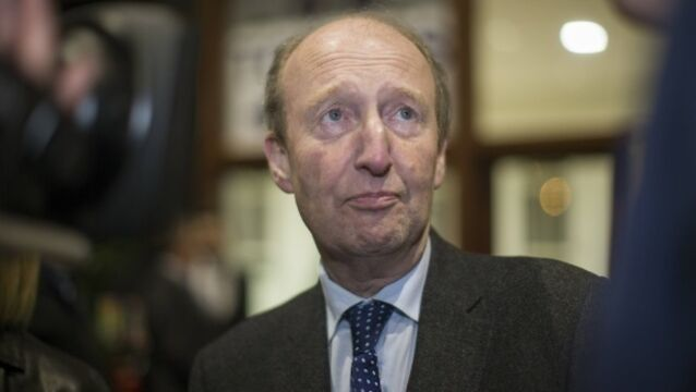Shane Ross stays out of dispute as bus services grind to halt