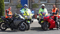 GARDA - June Bank Holiday Road Safety Appeal Photocall