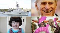 LUNCHTIME BULLETIN: LÉ Eithne delayed by paperwork; Prince Philip retires from royal duties
