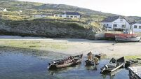 Inishturk island: Home to 60 people, several B&Bs and a lively summer seisiún