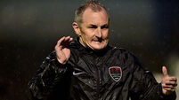 John Caulfield vents fury at Shamrock Rovers
