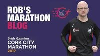 Running with Rob - Make an April resolution to get involved in the Cork City Marathon