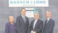 Bausch + Lomb open €85m facility three years after closure threat