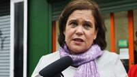 Sinn Féin gains ground in opinion poll