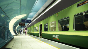 Dart commuters told to avoid morning rush hour