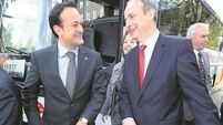 Varadkar to seek 'parity' with FF if in coalition