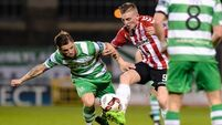 Aaron McEneff double fires Derry City past Shamrock Rovers